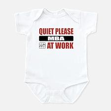 MBA Work Infant Bodysuit