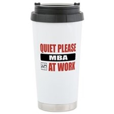 MBA Work Travel Mug