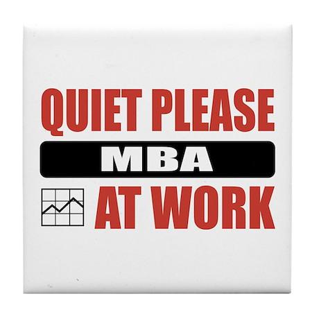 MBA Work Tile Coaster