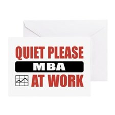 MBA Work Greeting Card
