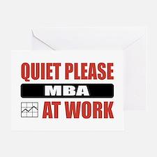 MBA Work Greeting Card