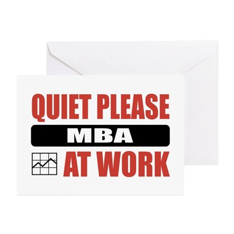 MBA Work Greeting Cards (Pk of 10)