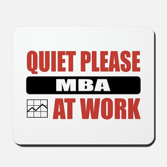 MBA Work Mousepad
