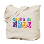 Colorful Class Of 2025 Tote Bag