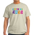 Colorful Class Of 2025 Light T-Shirt