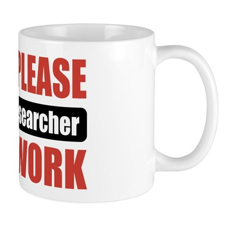 Market Researcher Work Mug