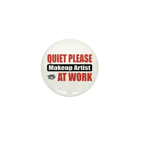 Makeup Artist Work Mini Button (10 pack)
