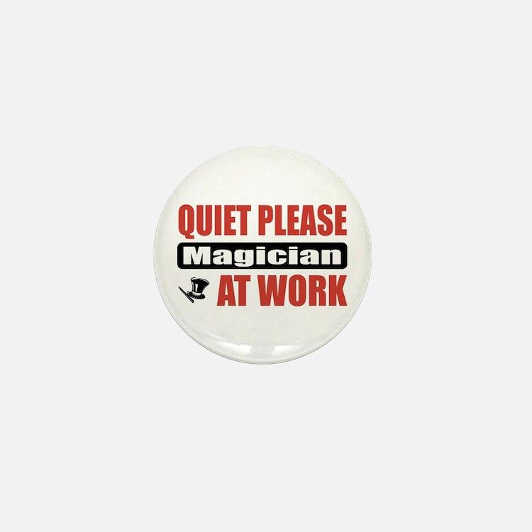 Magician Work Mini Button