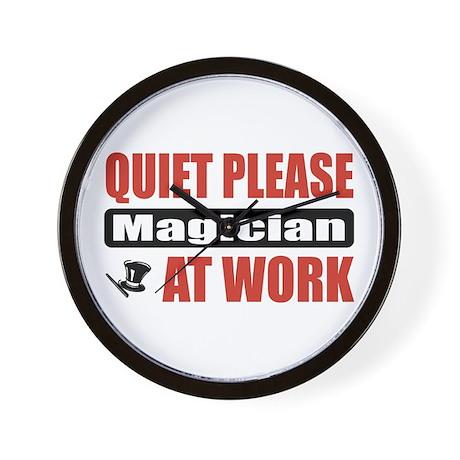 Magician Work Wall Clock