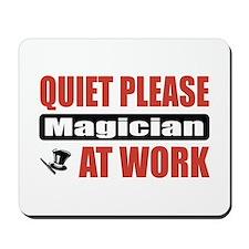 Magician Work Mousepad