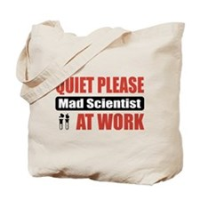 Mad Scientist Work Tote Bag