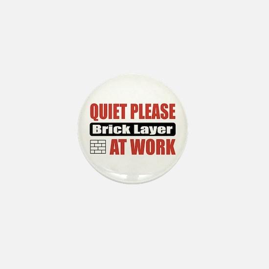 Brick Layer Work Mini Button