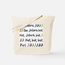 See Juliana Knit Tote Bag