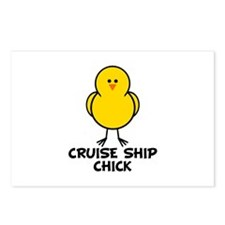 Cruise Ship Chick Postcards (Package of 8)