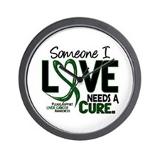 Needs A Cure 2 LIVER CANCER Wall Clock