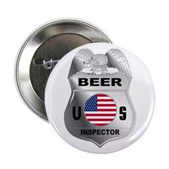 US Beer Inspector Button