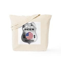 US Beer Inspector Tote Bag