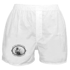 """If You Smile At Me"" Boxer Shorts"