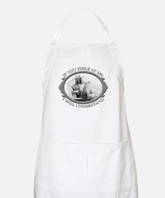 """If You Smile At Me"" BBQ Apron"