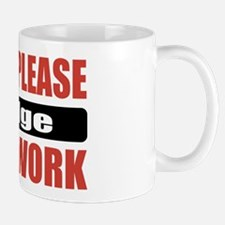 Judge Work Mug