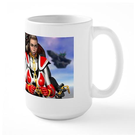Space Babe Large Mug