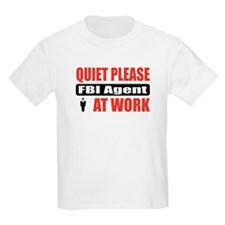 FBI Agent Work T-Shirt