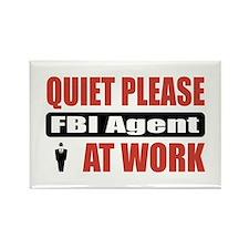 FBI Agent Work Rectangle Magnet (10 pack)