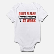 Investigator Work Infant Bodysuit