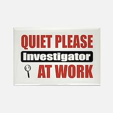 Investigator Work Rectangle Magnet