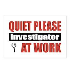 Investigator Work Postcards (Package of 8)