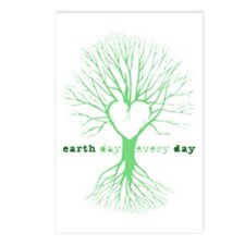 Cute Recycle earth Postcards (Package of 8)