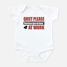 Interpreter Work Infant Bodysuit