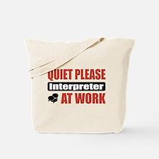 Interpreter Work Tote Bag