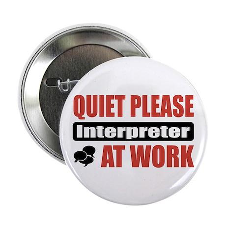 """Interpreter Work 2.25"""" Button (10 pack)"""