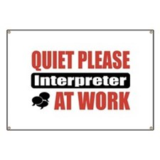 Interpreter Work Banner