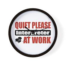 Interpreter Work Wall Clock