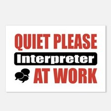 Interpreter Work Postcards (Package of 8)