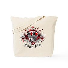 Poker Star Tote Bag