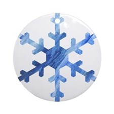another Snowflake Ornament (Round)