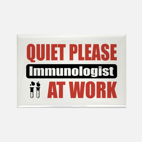 Immunologist Work Rectangle Magnet