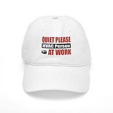HVAC Person Work Baseball Cap