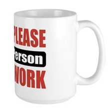 HVAC Person Work Mug