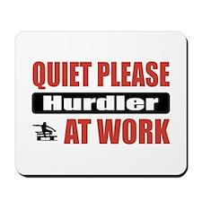 Hurdler Work Mousepad