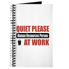 Human Resources Person Work Journal