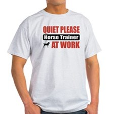 Horse Trainer Work T-Shirt