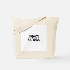 CRAZY SANDRA Tote Bag