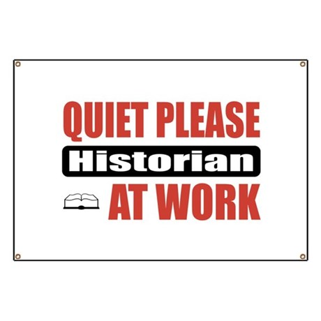 Historian Work Banner