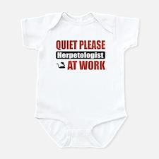 Herpetologist Work Infant Bodysuit