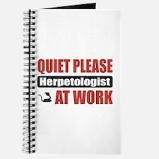 Herpetologist Work Journal
