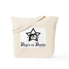 Negro es Bonito Tote Bag